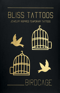 Coffret Birdcage - packaging