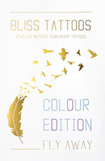 BlissTattoos - coffret Fly Away Colour - tatouages éphémères