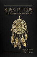 BlissTattoos - coffret Tepee - tatouages éphémères