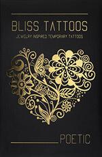 BlissTattoos - Poetic set - temporary tattoos